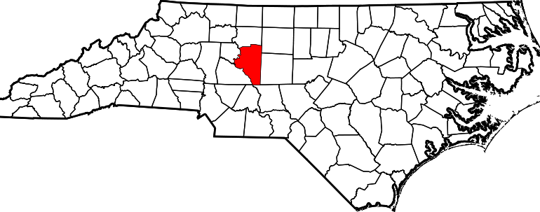 Davidson County Map NC