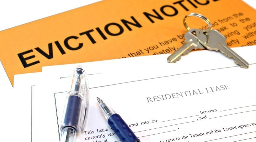 Property manager Eviction Notice