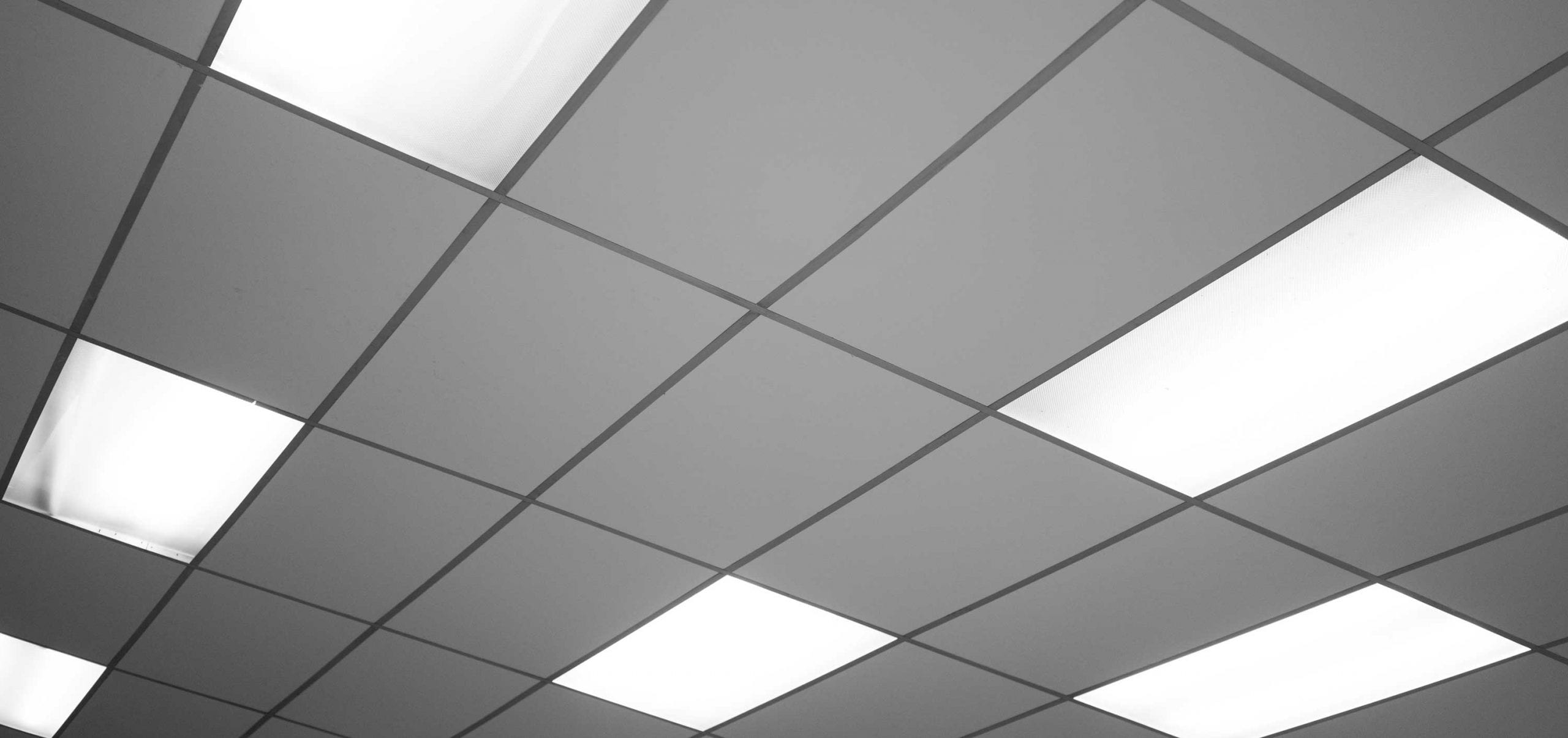 Fluorescent office space lighting